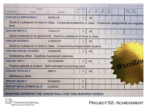 Project 52 - Achievement