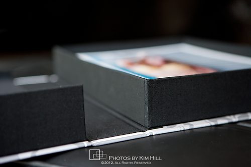 custom image box for boudoir portraits